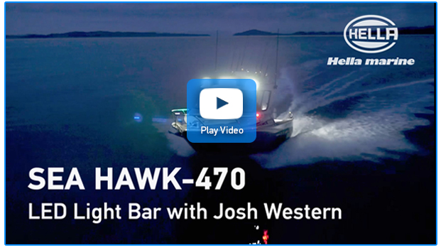 Sea Hawk Light Bar Video