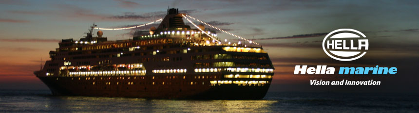Cruise Ship Lighting Header