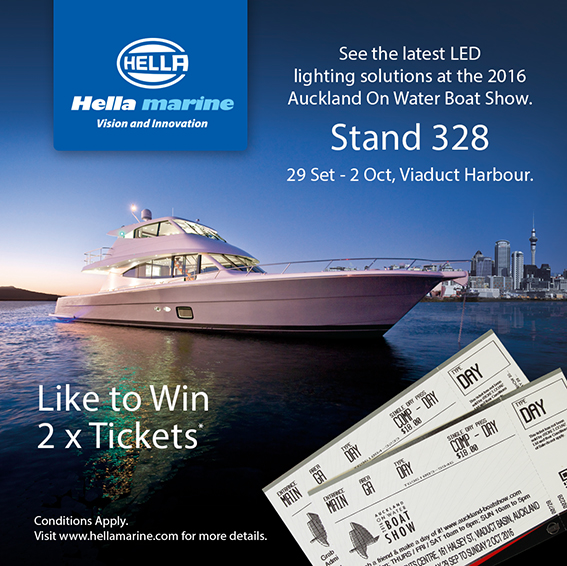 Win Tickets to Auckland Boat Show