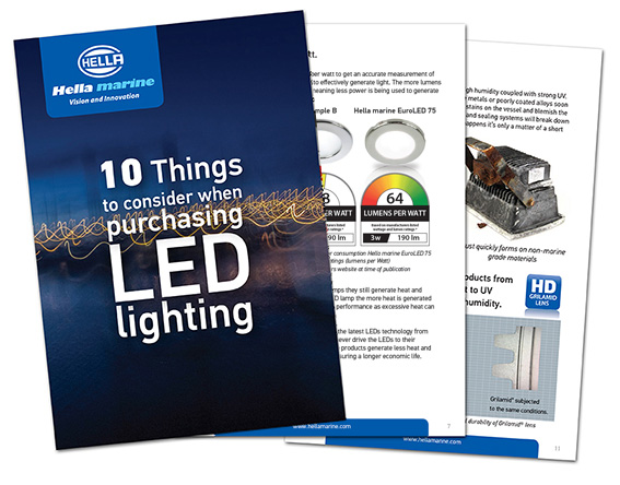 10 Things to Consider When Purchasing LED Lighting Booklet