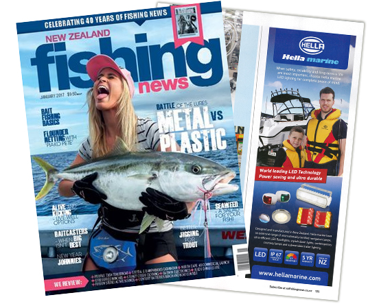 New Zealand Fishing News