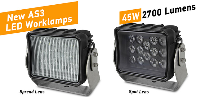 New AS3 LED Worklamps