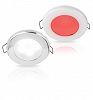 Bianca/Rossa Downlight a LED Luce Due Colori EuroLED 75 with Spring Clip