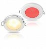 Bianca Caldo/Rossa Downlight a LED Luce Due Colori EuroLED 75 with Spring Clip