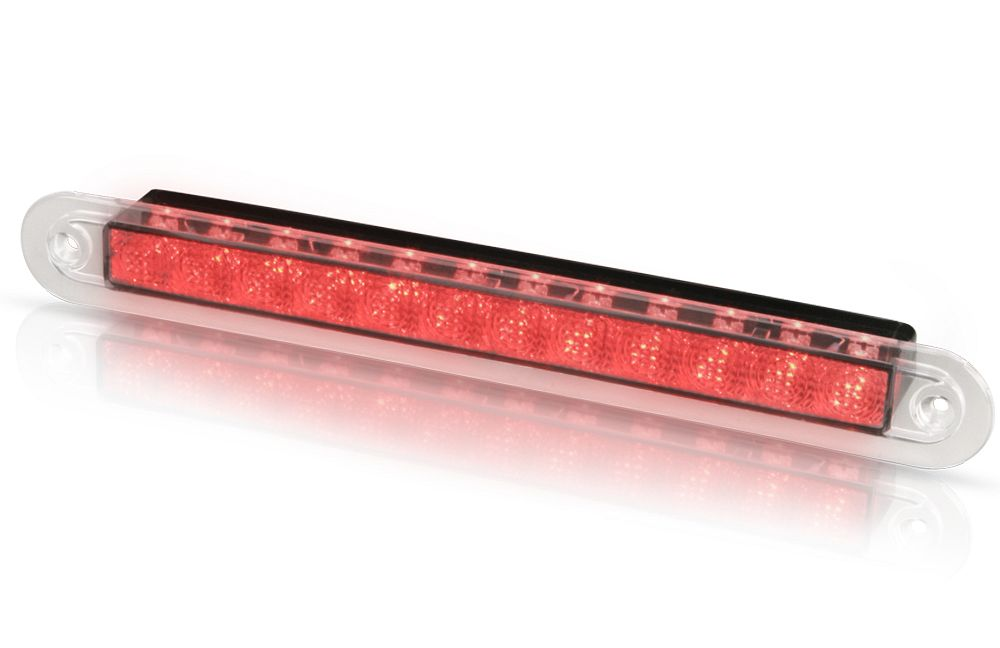 Red led recess strip lamp courtesy lamps strip hella marine 12v dc courtesy wide rim aloadofball Choice Image