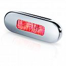 Red LED Oblong Step Lamp