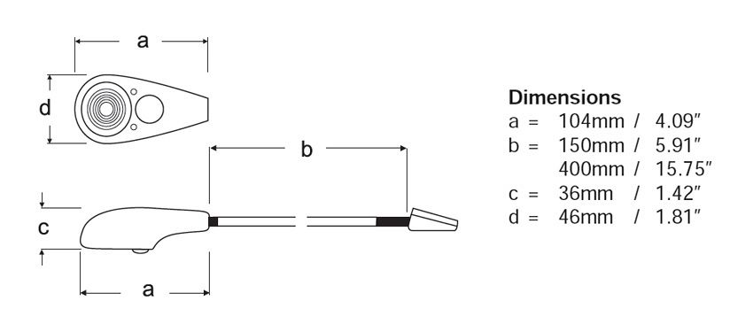 LED Chart Table Line Drawing